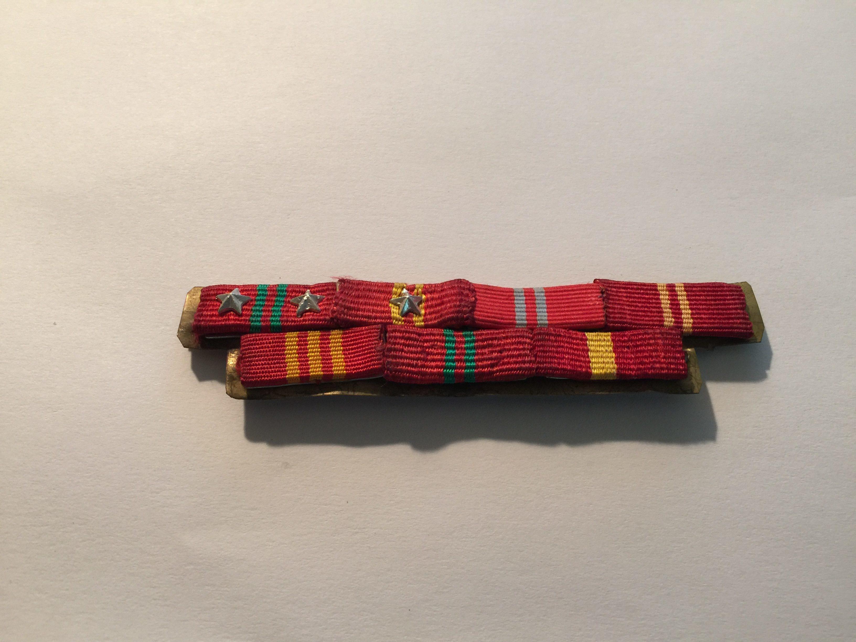 Viet Cong Officers Ribbon Bar