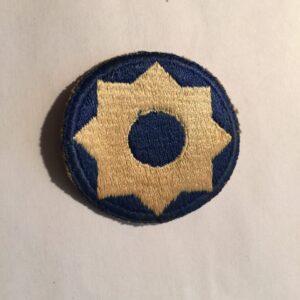 8TH SERVICE COMMAND UNIT PATCH