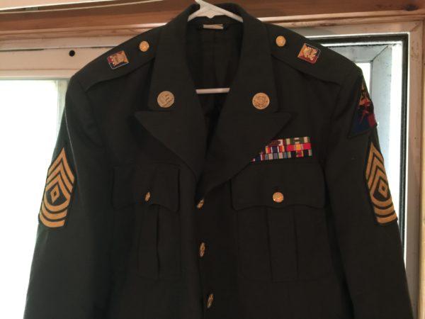 U.S. Army First Sergeant dress jacket