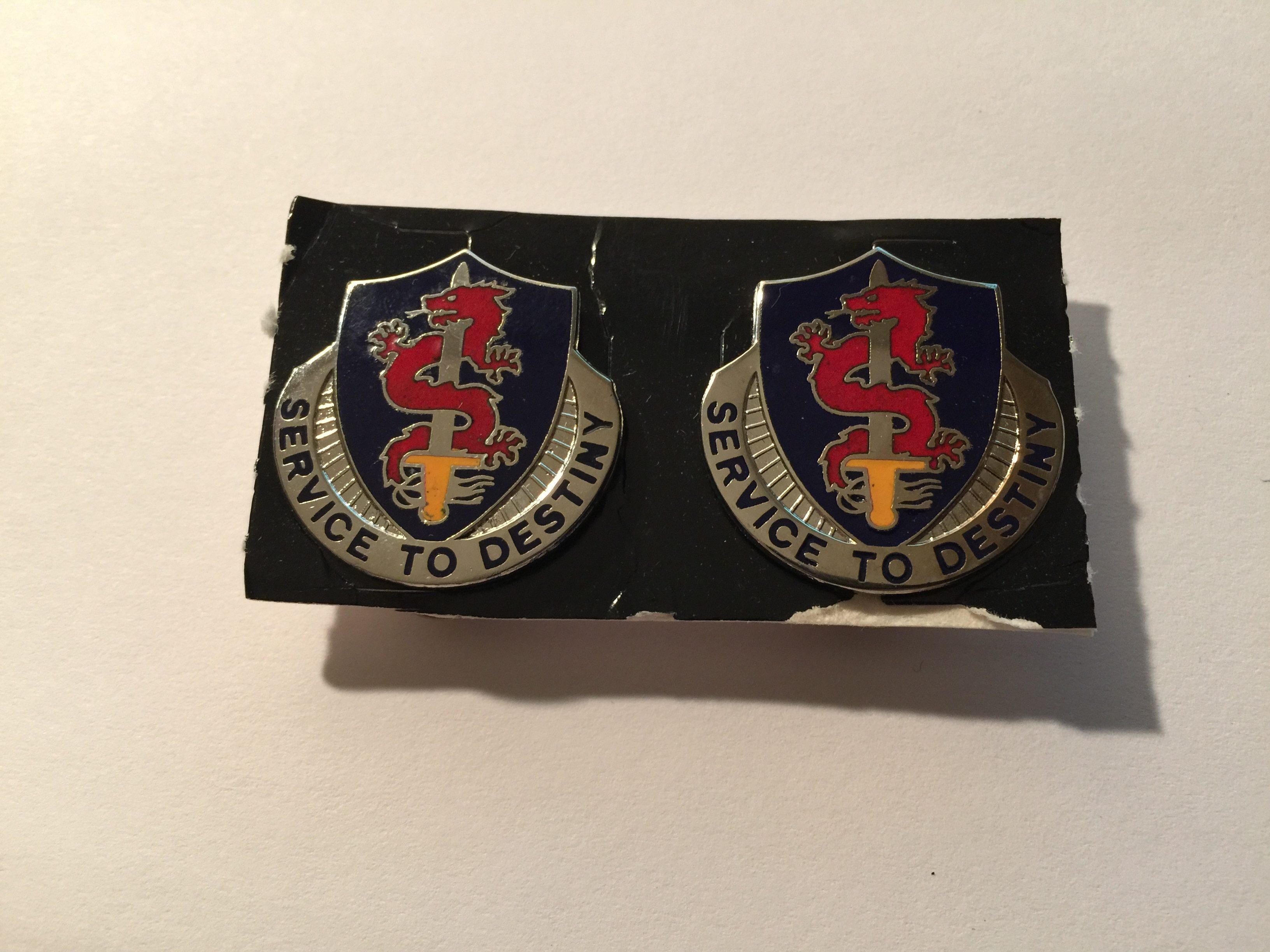 101st Personnel Services Battalion Unit Crest