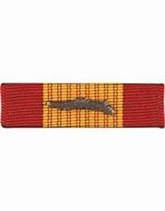 Vietnam Gallantry Cross Ribbon W/ palm.