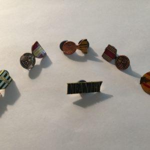 Vietnam War Veteran Lapel Pin Lot